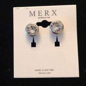 Merx Clear Studs